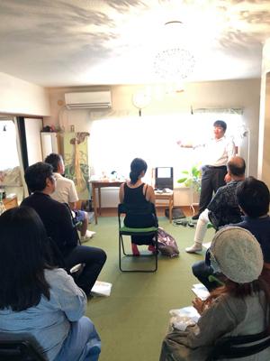 カタカムナお話会の講座風景